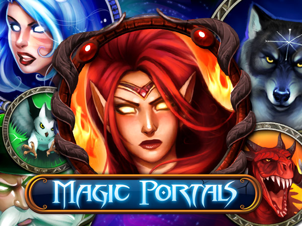 nytt slots spel magic portals